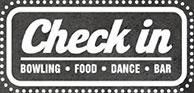 Check in - Bowling Food Bar - Logo